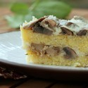 Baked Polenta with Mushrooms